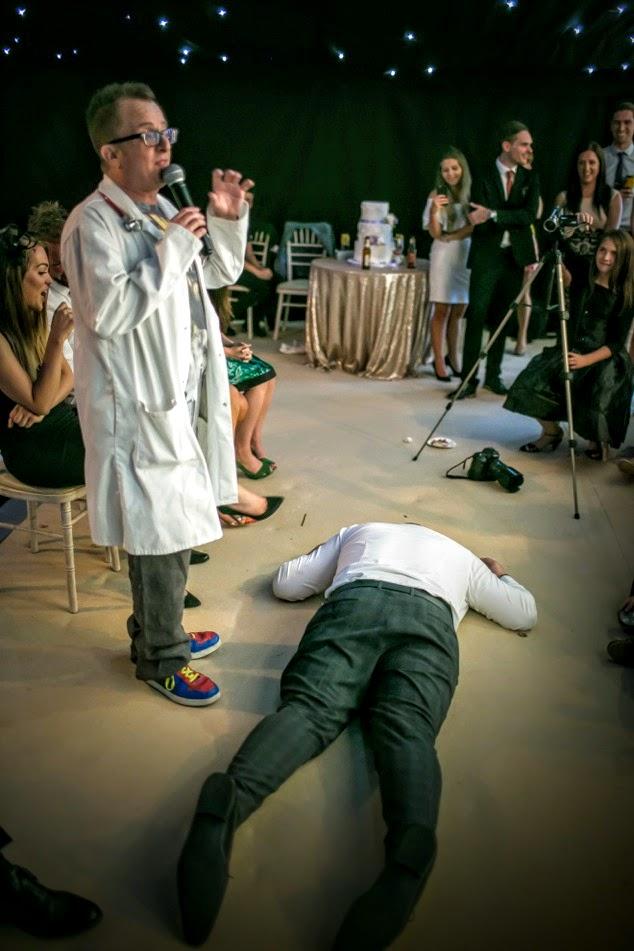 The Honest Hypnotist Knocks a Guy Out
